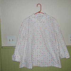 Dress Barn button down blouse 2x